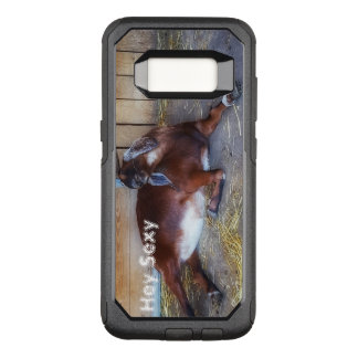Hey Sexy Goat Print Accessory Case