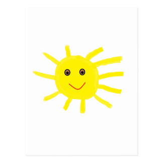 Hey Sunshine 85 Postcard