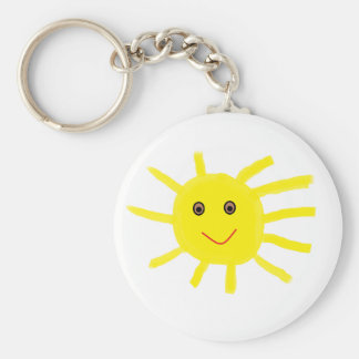 Hey Sunshine Key Ring