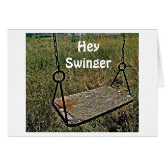 Business cards Swinger
