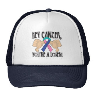 Hey Thyroid Cancer You're a Loser Trucker Hat