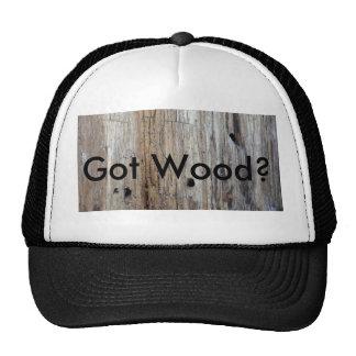 "Hey Trucker, ""Ya Got Any Wood?"" Cap"