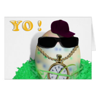 Hey, YO! Happy Gansta Easta Card