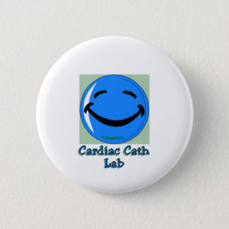 HF Cardiac Cath Lab 6 Cm Round Badge
