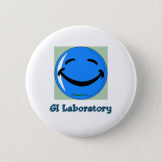 HF GI Laboratory 6 Cm Round Badge