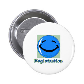 HF Registration Pinback Button