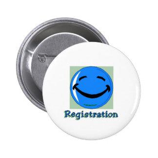 HF Registration Pinback Button