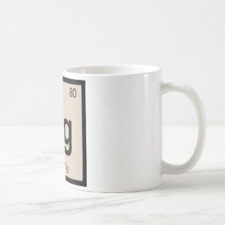 Hg - Hoagie Chemistry Periodic Table Symbol Coffee Mug