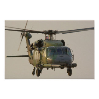 HH-60G Pave Hawk Helicopter Poster