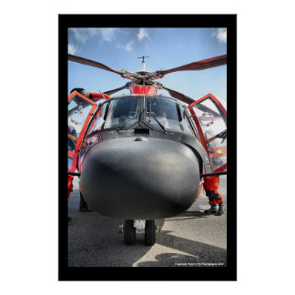 HH-65 Nose Poster