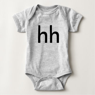 hh big baby bodysuit