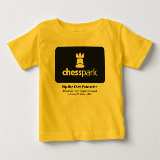 HHCF 1st Annual Chess Kings Invitational Baby T-Shirt