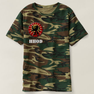 HHOD Teamwork is OP - camo version T-Shirt