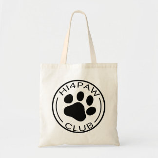 HI4PAW club Tote Bag