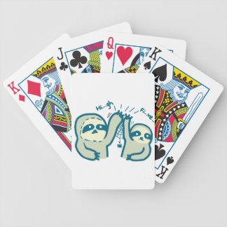 Hi-5 Slothes Bicycle Playing Cards