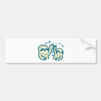 Hi-5 Slothes Bumper Sticker