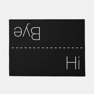 Hi and Bye Doormat