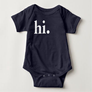 Hi. Baby Bodysuit