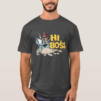Hi Boss! - Chimney Chickens Men's Tee