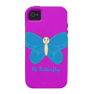 Hi Butterfly® iPhone 4 Case-Mate Tough iPhone 4/4S Case