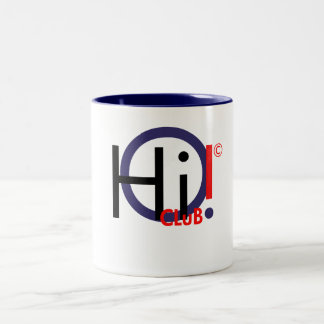 Hi!CLuB Mug. Two-Tone Mug