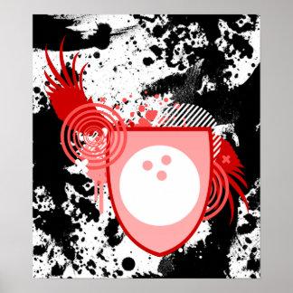 hi-fi bowling crest posters