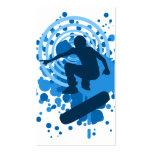 hi-fi skateboard bubbles business card template