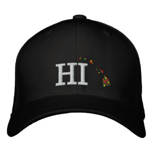 71dc0a94b94 HI Hawaii Embroidered Hat