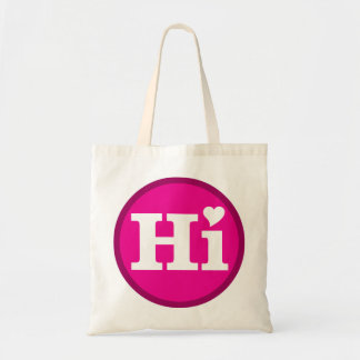 Hi Hawaii Love Island Design Tote Bag