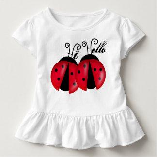 Hi Hello Lady Bugs Toddler T-Shirt
