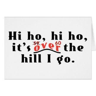 Hi Ho 60 Greeting Cards