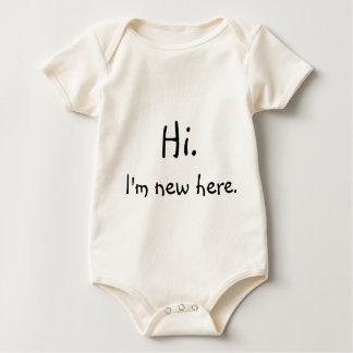 Hi, I'm new here! Baby Bodysuit