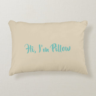 Hi, I'm Pillow I like Warm Hugs:)