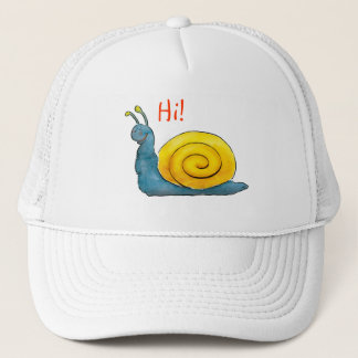 Hi! Loved snail Trucker Hat