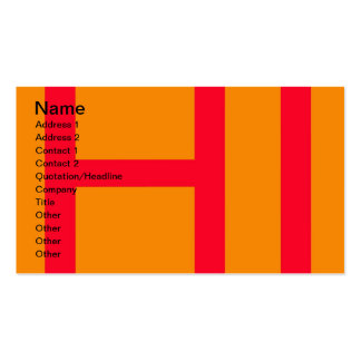Hi, may mean hello, or HI as in Initials of Hawaii Double-Sided Standard Business Cards (Pack Of 100)