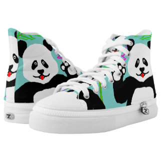 Hi Panda! High Tops