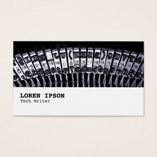 Hi-Phi - 084 - Typewriter Business Card