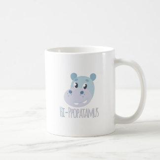 Hi-ppopatamus Coffee Mug