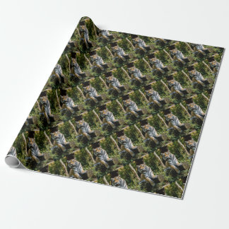 Hi-Res Tiger in Muenster Wrapping Paper