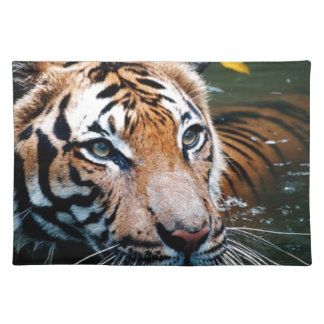 Hi-Res Tiger in Water Placemat