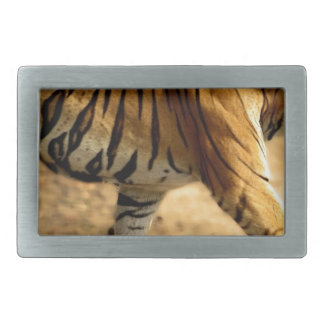 Hi-Res Tigres Stalking Rectangular Belt Buckles