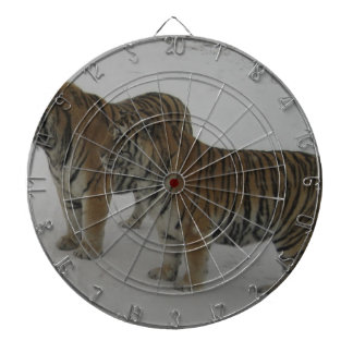 Hi-Res Two Siberian Tigers Dartboard