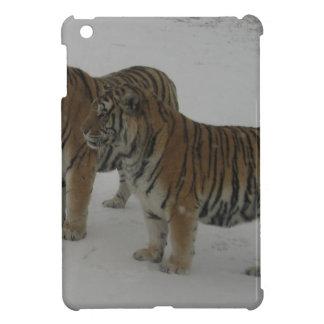 Hi-Res Two Siberian Tigers iPad Mini Case