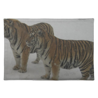 Hi-Res Two Siberian Tigers Placemat