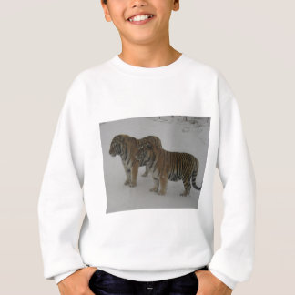 Hi-Res Two Siberian Tigers Sweatshirt