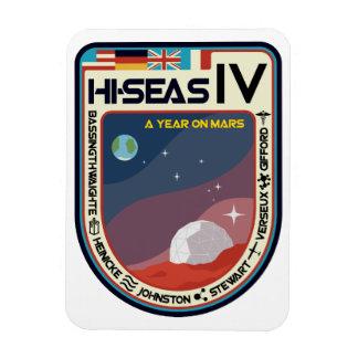 HI-SEAS IV Fridge Magnet
