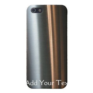 Hi Tech Bronze Wave Business iPhone 5/5S Covers