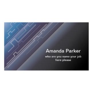 hi tech business card standard business cards