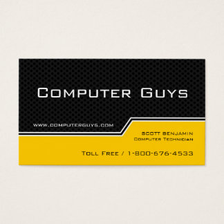 HI-Tech Business Cards