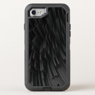 hi-tech chaotic background OtterBox defender iPhone 7 case